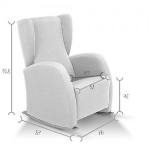 sillón lactancias DUTTI MEDIDAS